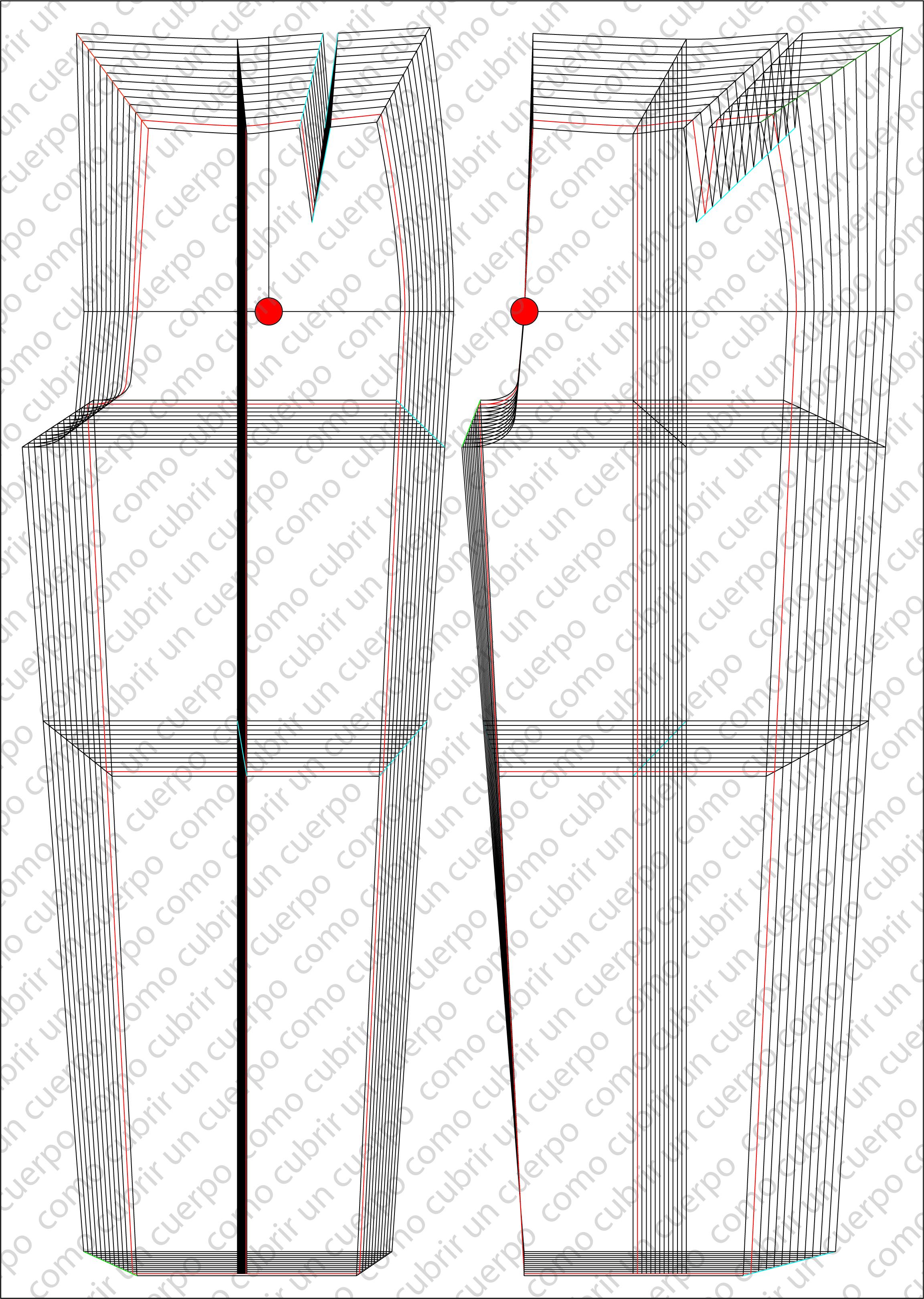 De Pantalón Diferentes Ratios Con Escalado Ejemplo WHIE9D2