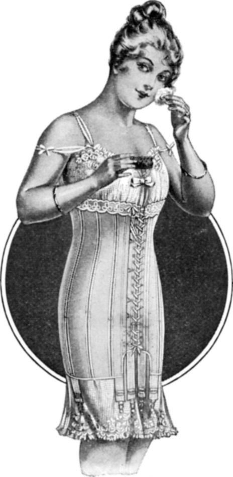 Spirella corsets 1917