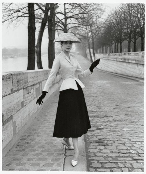 Modelo de Christian Dior  1947