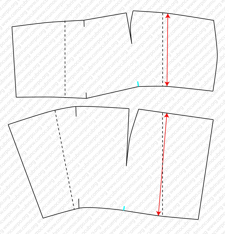Patrón base de la polaina | Cómo cubrir un cuerpo
